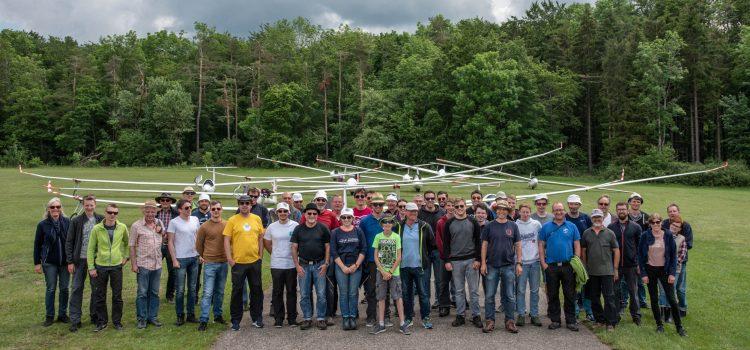Der 16. Übersberg Segelflugwettbewerb